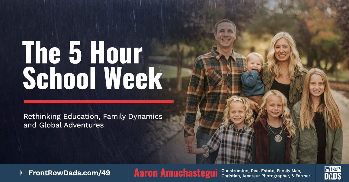 Aaron Amuchastegui 5 hour school week
